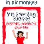 How to Make Birthday Invitations in PicMonkey