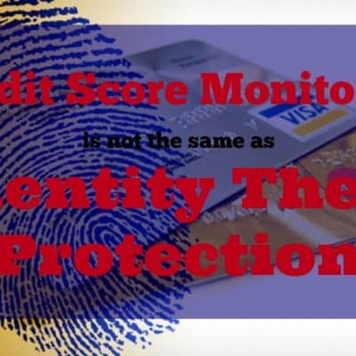Credit monitoring is not proactive identity theft protection #lifelocksafety