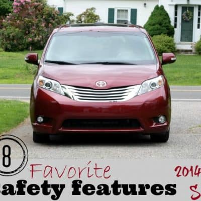 Top 8 Safety Features of Toyota Sienna #SiennaDiaries