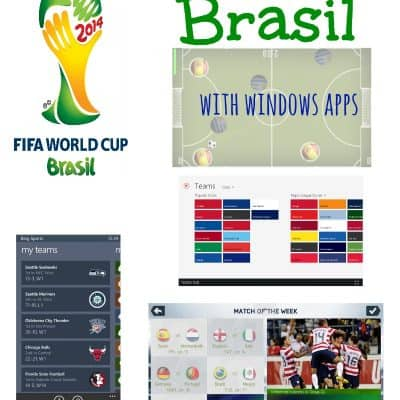 Follow the World Cup with Windows Apps #worldcup #brasil2014