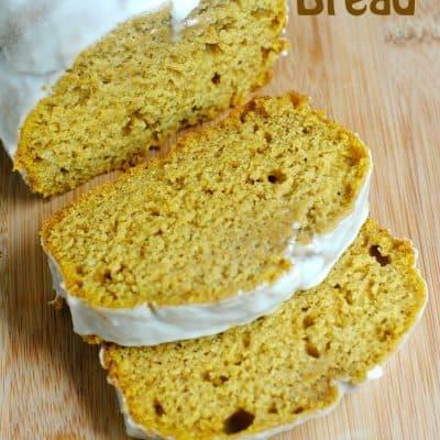Glazed Pumpkin Bread Recipe