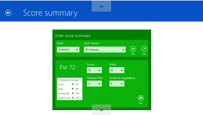 golf-windows-app