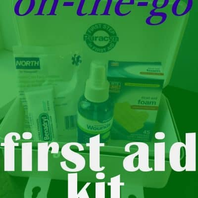 On the go first aid