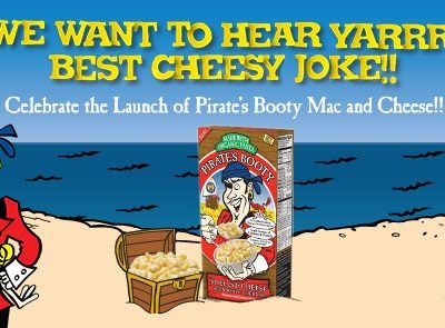 Come get cheesy with us! #MacAndCheesyJoke