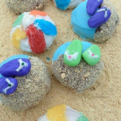 Summer Treats – Summer Fun Cake Balls
