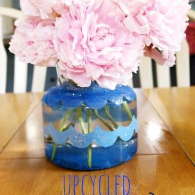 Upcycle Craft Idea: Painted Vase