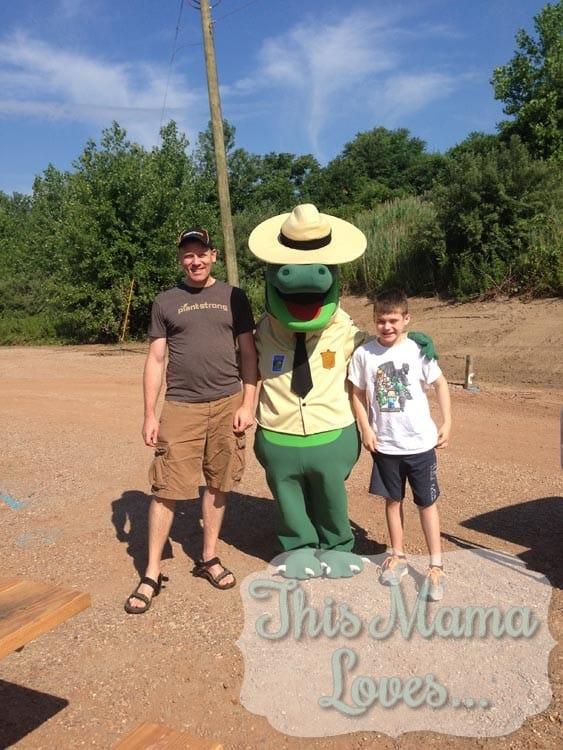 Kyle the crocodile