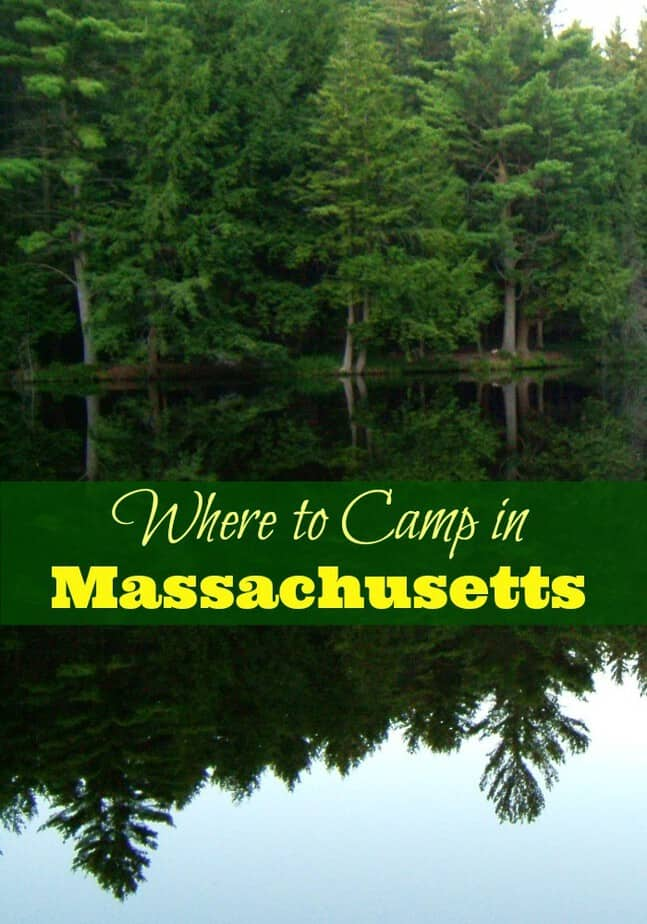 Where to Camp in MA