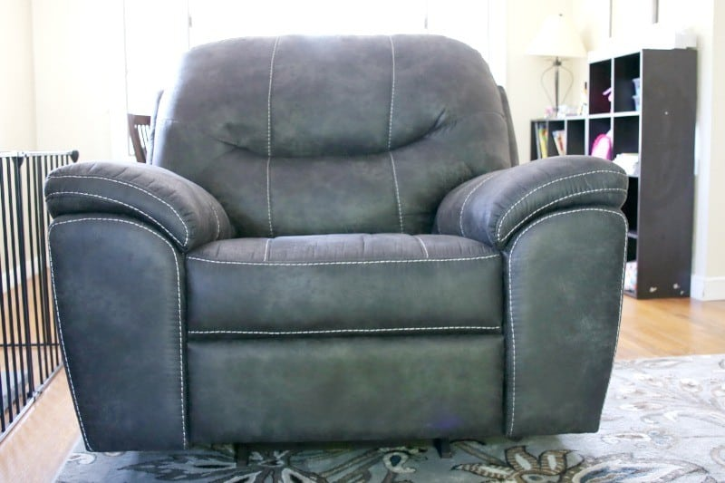 emmett-rocker-recliner-charcoal & Small living space design: Living Room | This Mama Loves islam-shia.org