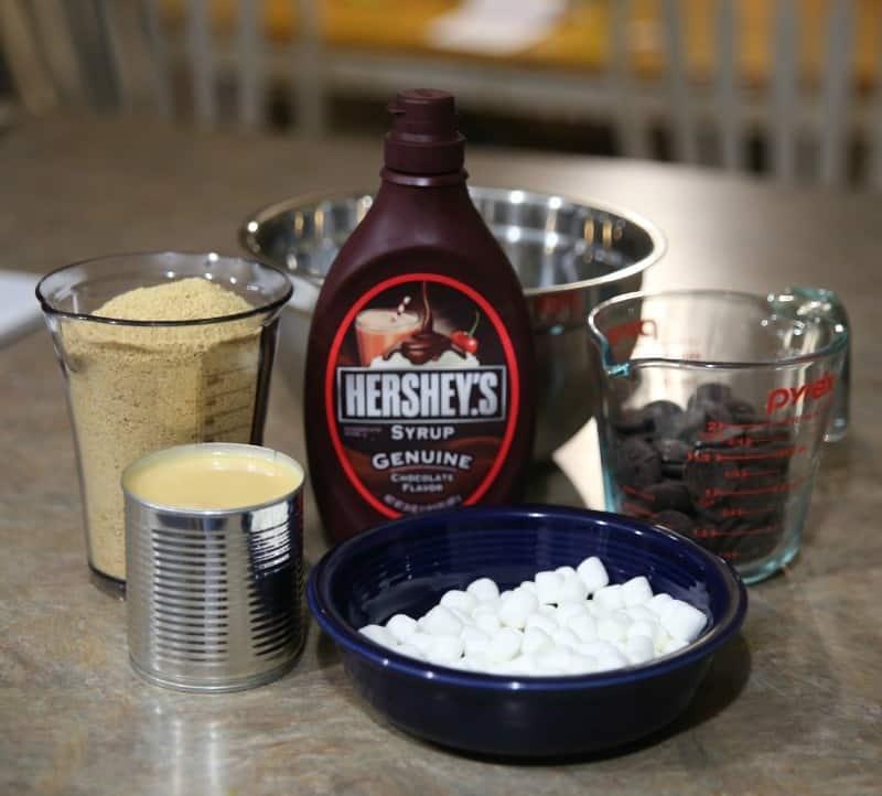 graham cracker brownie ingredients