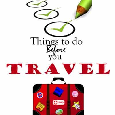 Things to do before you travel #LifeLockSafety