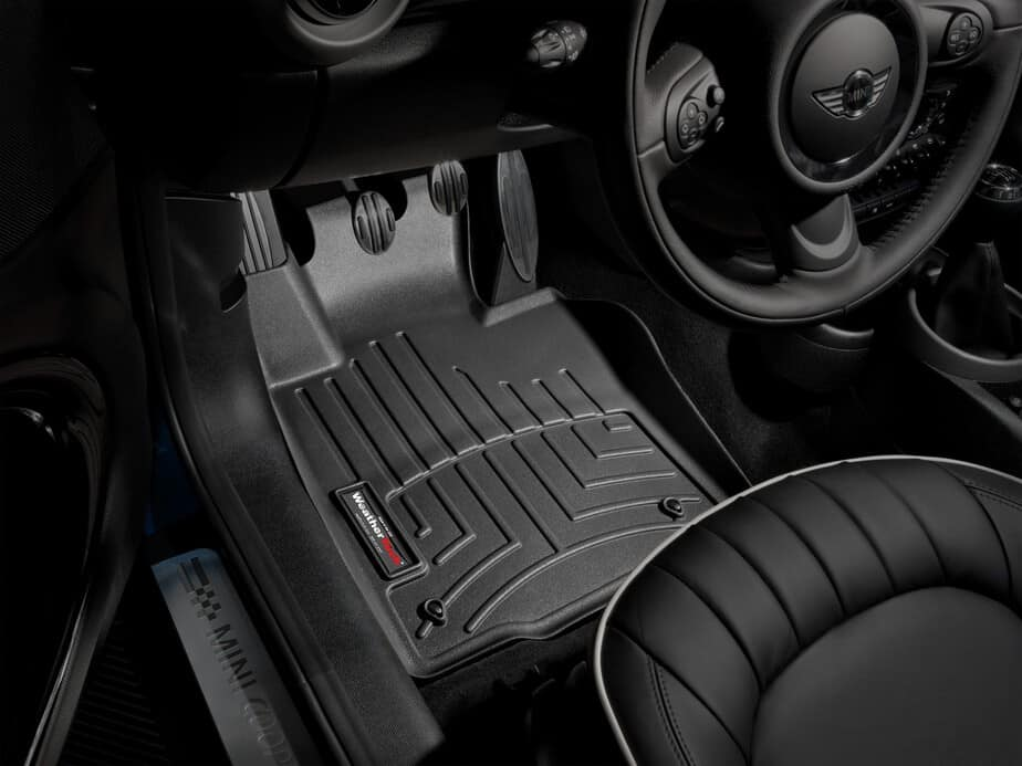 Weathertech mats cleaner - Weathertech Front Floor Liner Mini Countryman