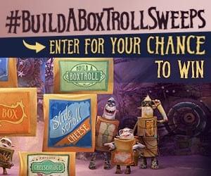 #BuildABoxtrollSweeps: Enter to Win! #TheBoxtrolls