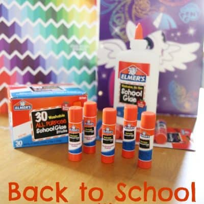 Back to school with Elmer's Glue