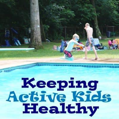 5 ways to keep active kids healthy