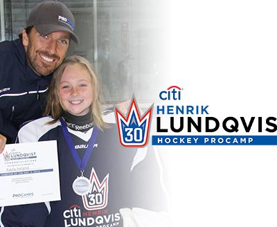 Citi Private Pass Youth Sports Clinic with Henrik Lundqvist #ClosertoPro