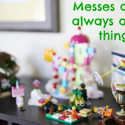 Messes aren't always a bad thing #HappiMess #DeltaFaucet