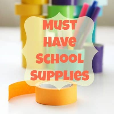 Must Have School Supplies