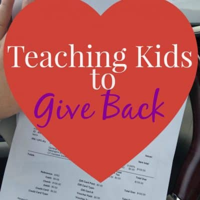 Teaching kids to give back #SiennaDiaries