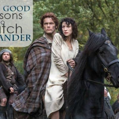 Verra good reasons to watch Outlander #Outlander #OutlanderDay