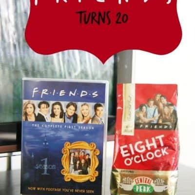 Friends turns 20: Central Perk Roast #8OClockCoffee #Friends20