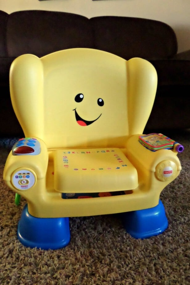 Fisher Price Smart Stages Laugh Learn Chair