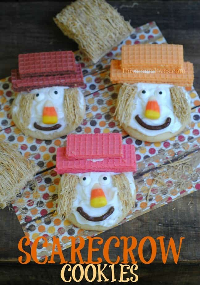 Scarecrow Cookies This Mama Loves