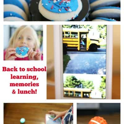 Back to school learning, memories and lunch!