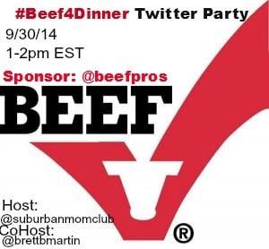 #beef4dinnertwitterparty