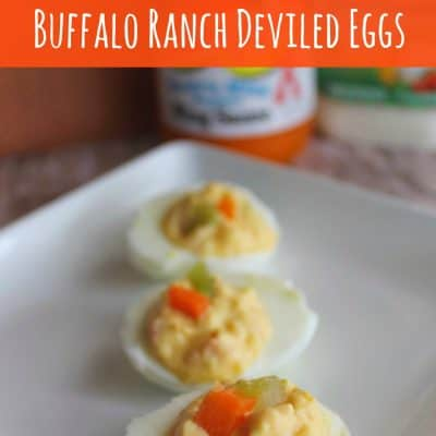 Game Day Buffalo Ranch Deviled Eggs Recipe