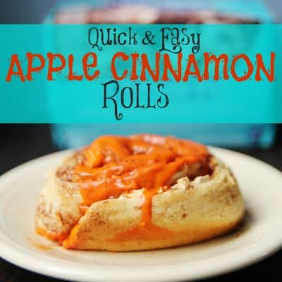 Quick and Easy Apple Cinnamon Rolls