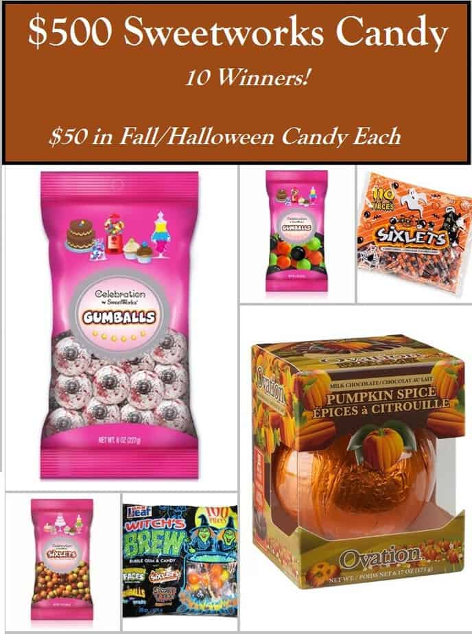 sweetworks candy giveaway