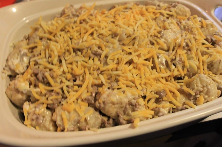 tater-tot-casserole- before-oven