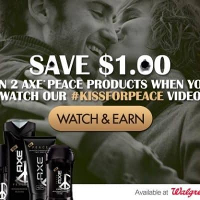 Pucker up for Peace One Day #KissforPeace #giveaway