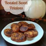 Apple Cider Roasted Sweet Potatoes