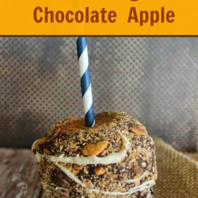 Butterfinger Chocolate Covered Apple Recipe