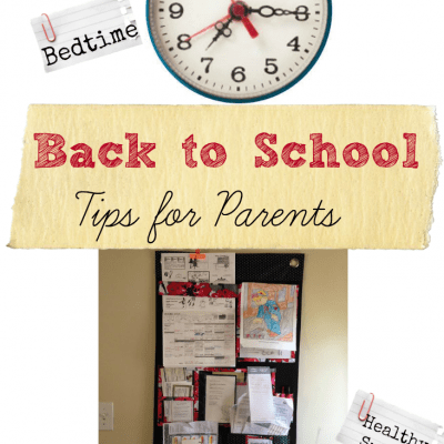 3 Simple Back to School Tips #HappyBalance