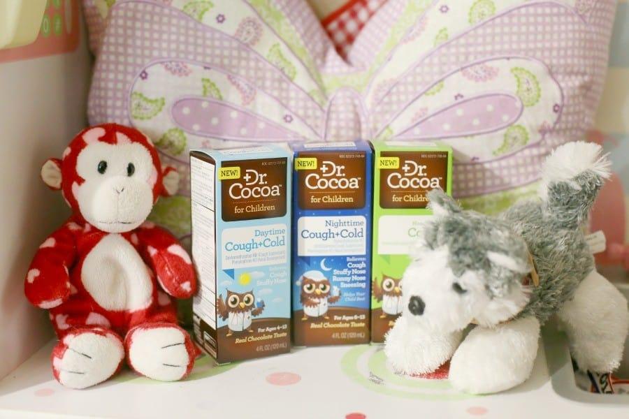 dr cocoa chocolate flavor cough medicine