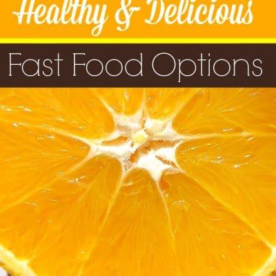 Healthy Fast Food Options #HappyBalance
