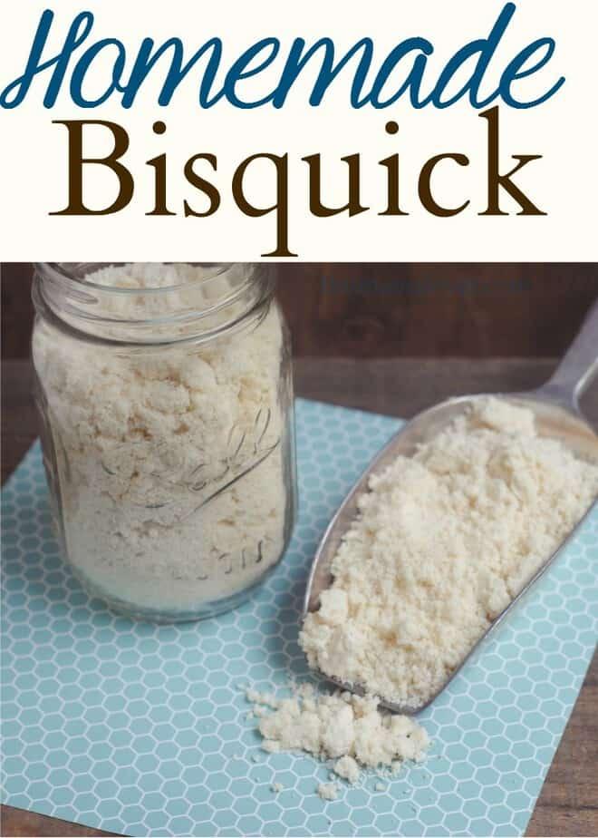 Homemade Bisquick Recipe: DIY Bisquik