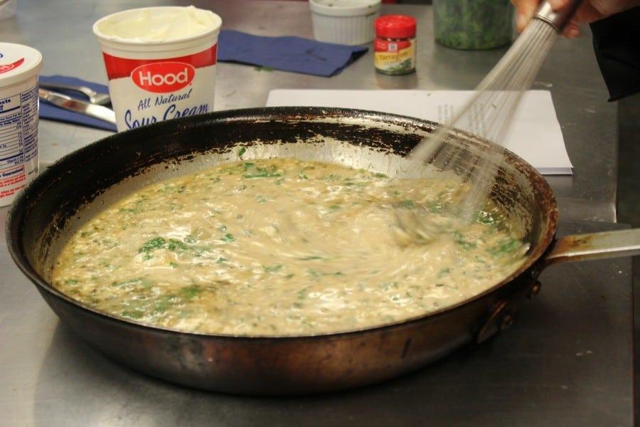 hood tarragon sauce