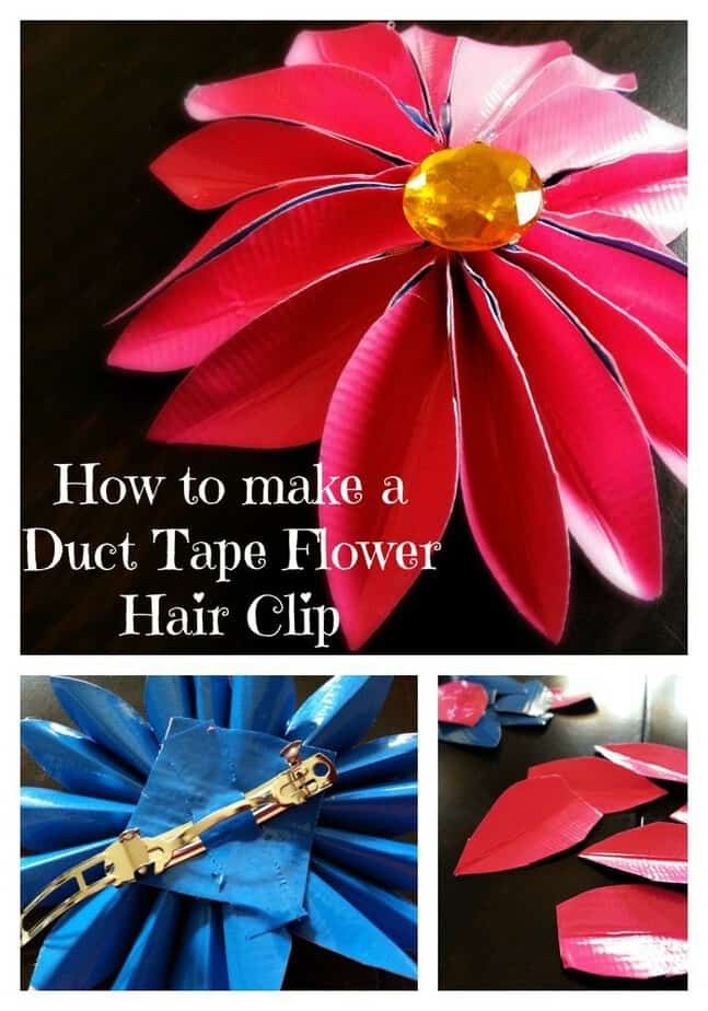 how-to-make-duct-tape-flower-hair-clip