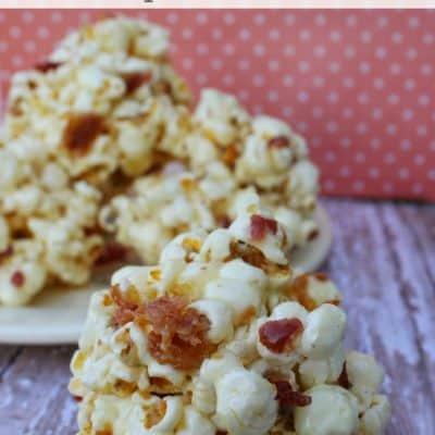 Maple Bacon Popcorn Ball Recipe