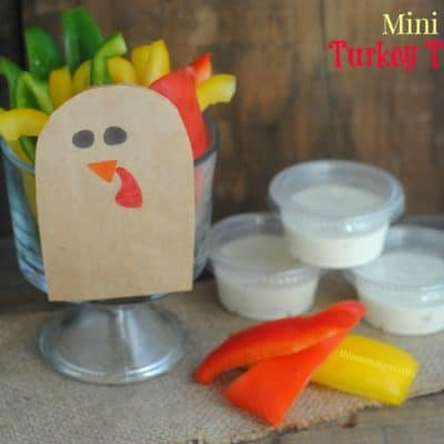 Mini Turkey Trifle: Easy Thanksgiving Craft for Kids