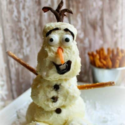 Olaf Cheese Ball