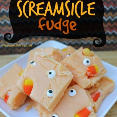Orange Screamsicle Fudge