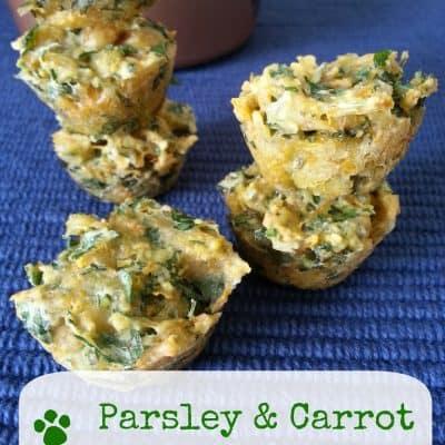 Parsley Carrot Dog Treats Recipe