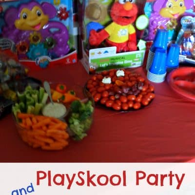 PlaySkool Party and Let's Imagine Elmo