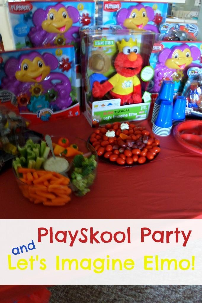 PlaySkool Let's Imagine Elmo
