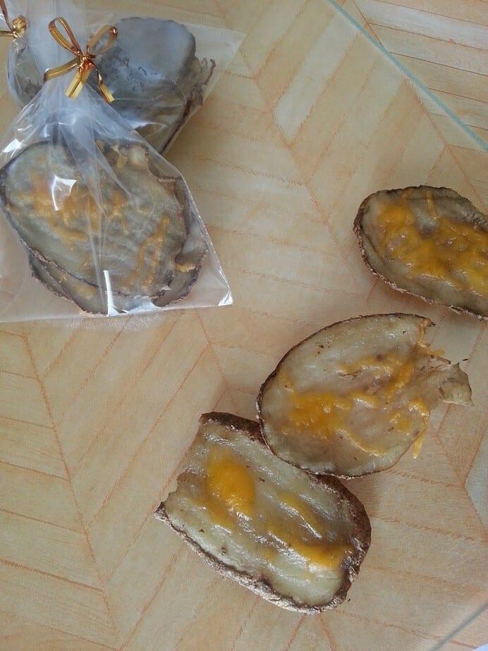 potato skins for dogs